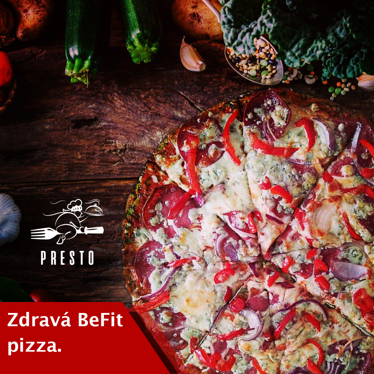 Zdravá pizza = BeFit pizza