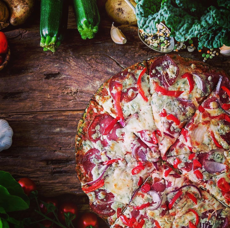 Zeleninová zdravá Befit pizza
